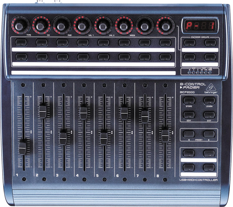 BEHRINGER BCF2000 MIDI WINDOWS 10 DRIVER